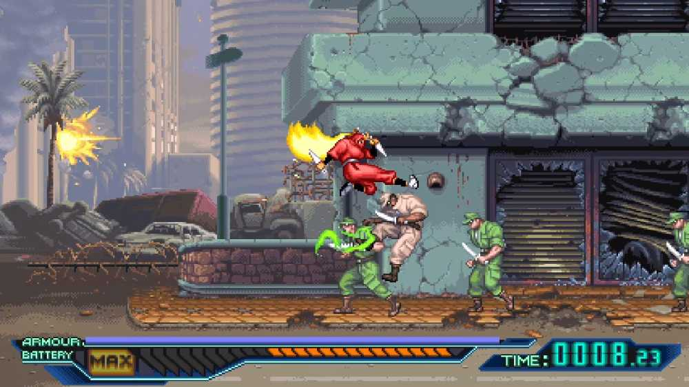 Screenshot de The Ninja Saviors