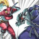 Arte de The Ninja Saviors: Return of the Warriors