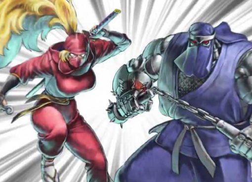 Arte de The Ninja Saviors: Return of the Warriors