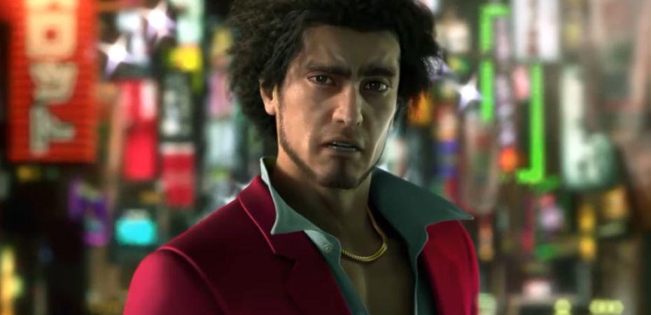 Captura de tela de teaser de Yakuza