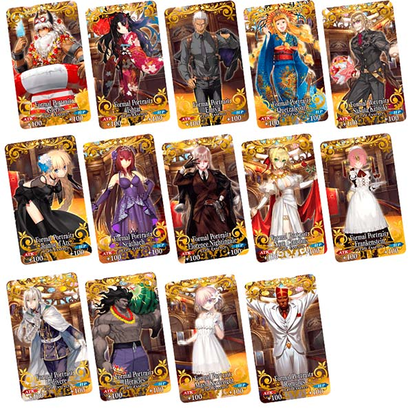 Craft Essences disponíveis em Fate/Grand Order