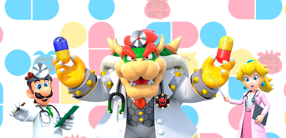 Personagens assistentes de Dr. Mario World.