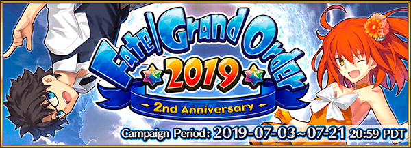 Evento comemorativo de aniversário de Fate/Grand Order
