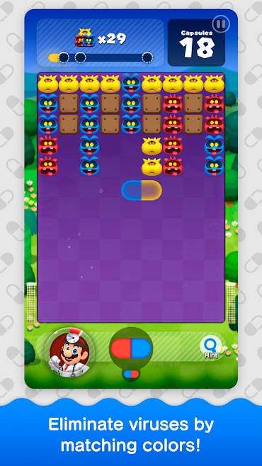 Gameplay de Dr. Mario World