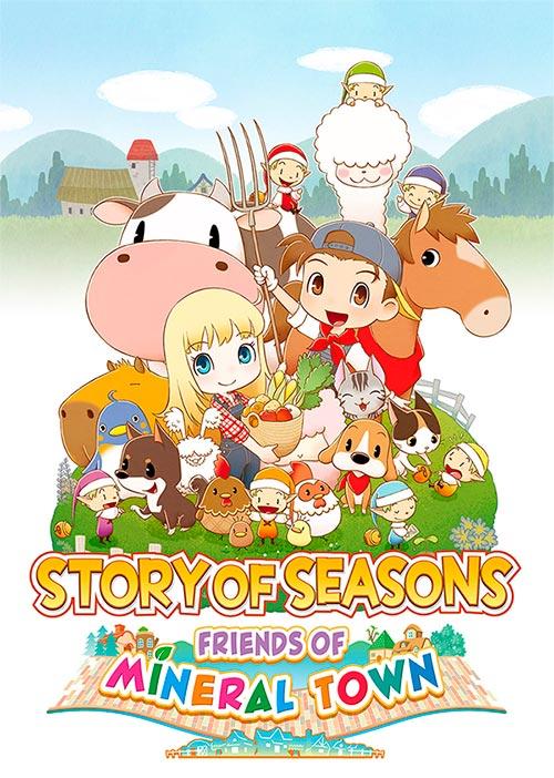 Arte de Story of Seasons: Friends of Mineral Town.