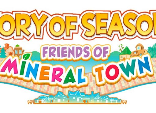 Logo oficial do remake de Friends of Mineral Town no ocidente.