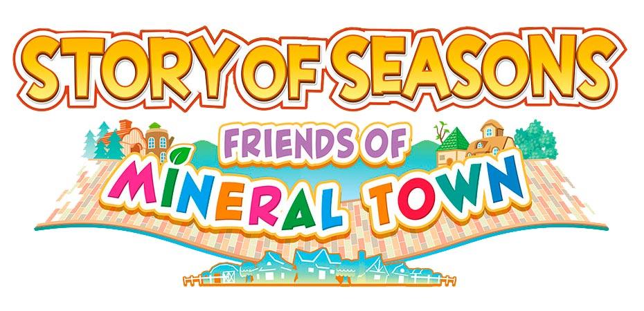 Logo oficial do remake de Friends of Mineral Town no ocidente.