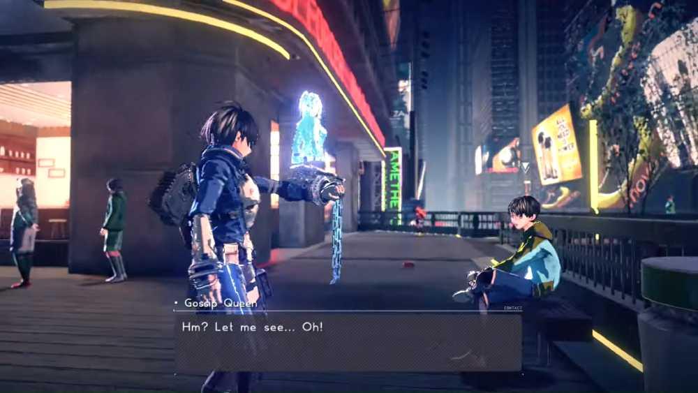 Screenshot de Astral Chain