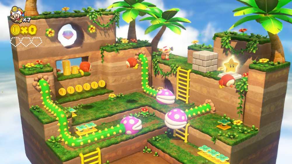 Screenshot de Captain Toad: Treasure Tracker