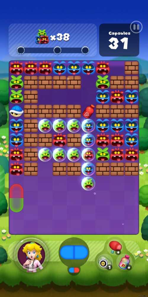 Captura de tela de Dr. Mario World