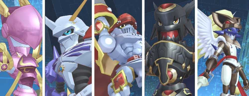 Screenshots de Digimon Story Cyber Sleuth: Hacker's Memory