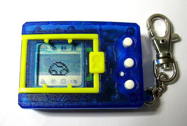 Foto de um Digimon V-Pet