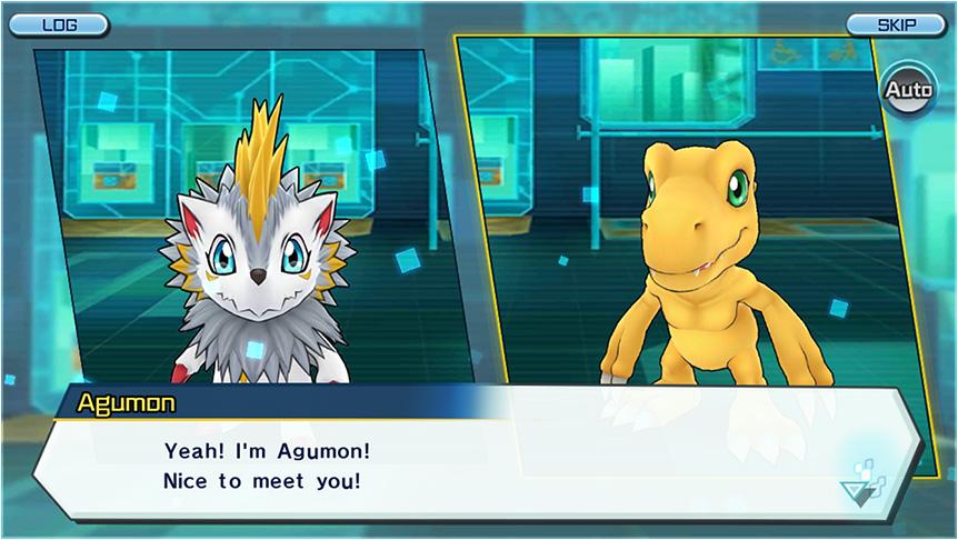 Screenshot de Digimon ReArise