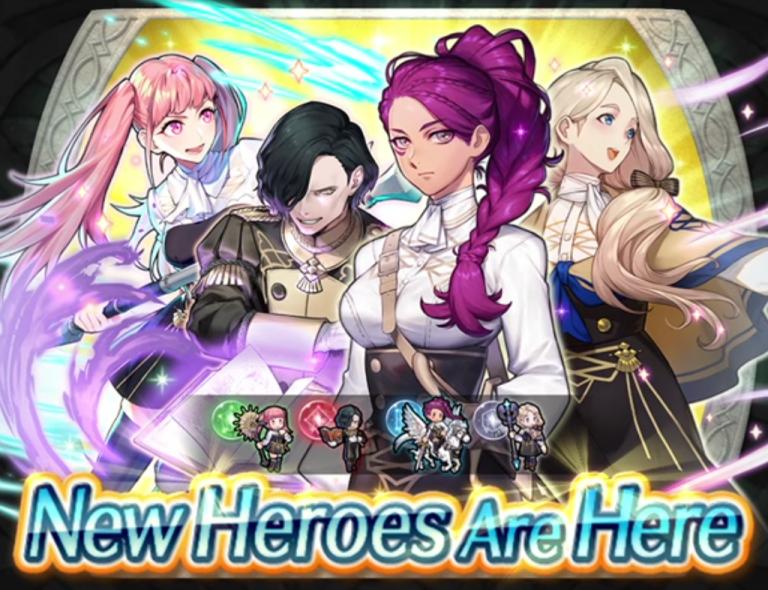 Banner de invocação de Fire Emblem Heroes