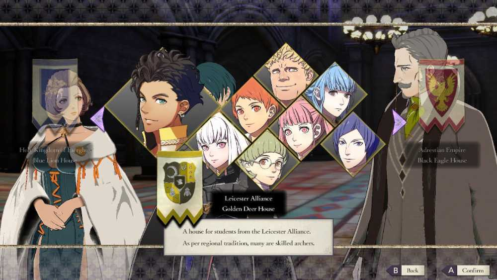 Captura de tela de Fire Emblem: Three Houses