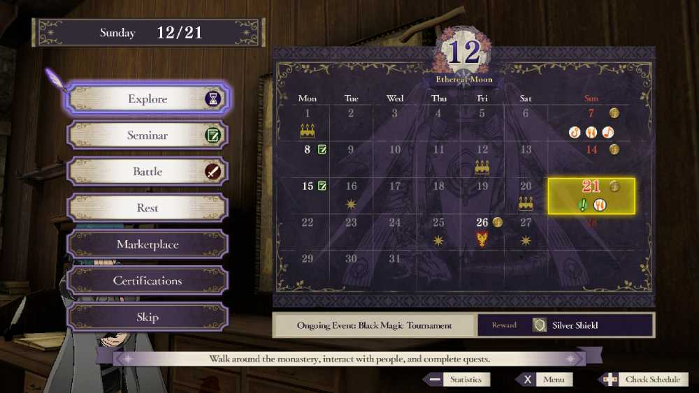 Screenshot de Fire Emblem: Three Houses