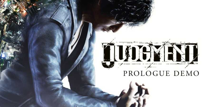 Imagem da demo de Judgment