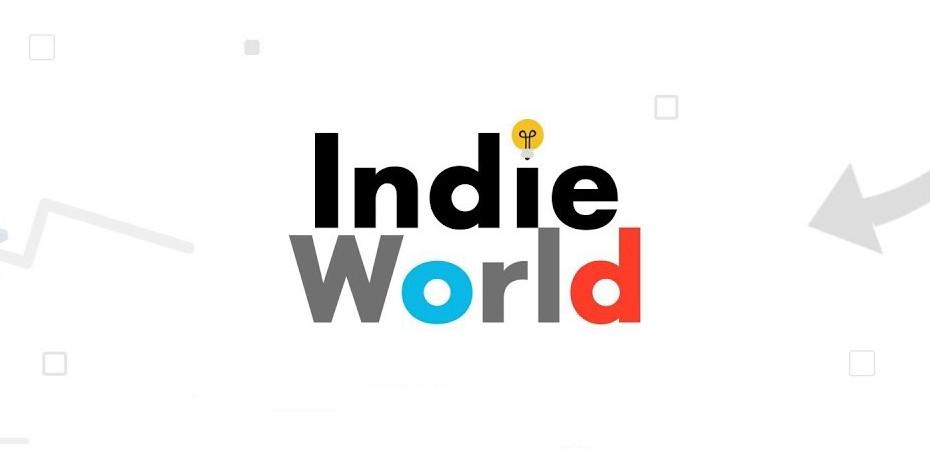 """Logotipo da transmissão ao vivo """"Indie World"""" da Nintendo"""