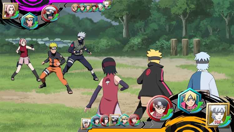 Screenshot de Naruto x Boruto Ninja Tribes