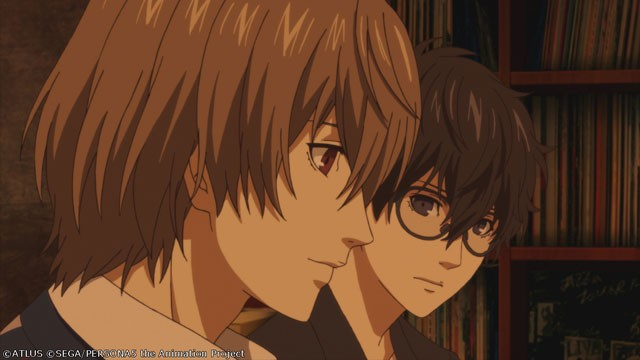"Captura de tela do OVA ""Proof of Justice"" de Persona 5 the Animation"