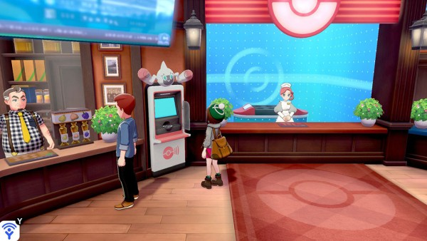 Screenshot de Pokémon Sword & Shield