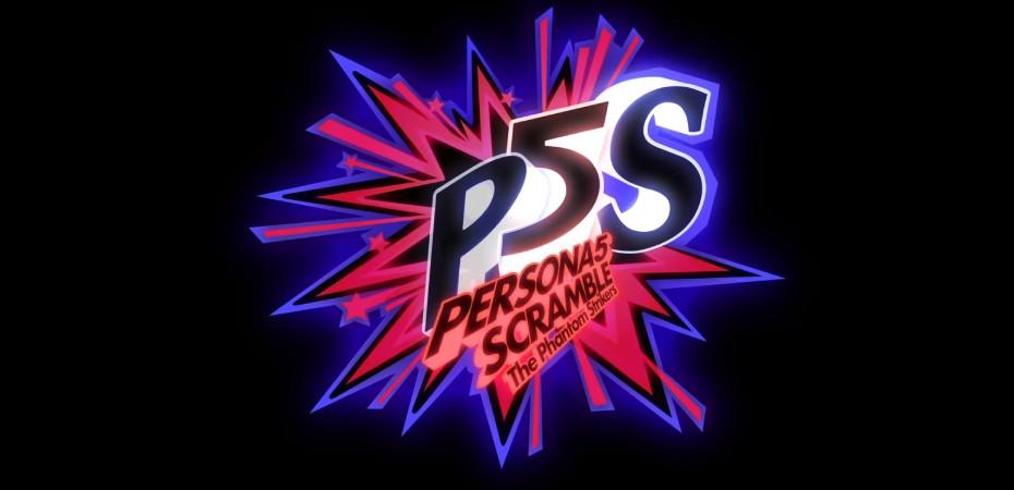 Logotipo de Persona 5 Scramble: The Phantom Strikers