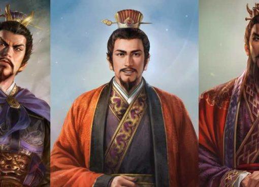 Arte de personagens de Romance of the Three Kingdoms XIV