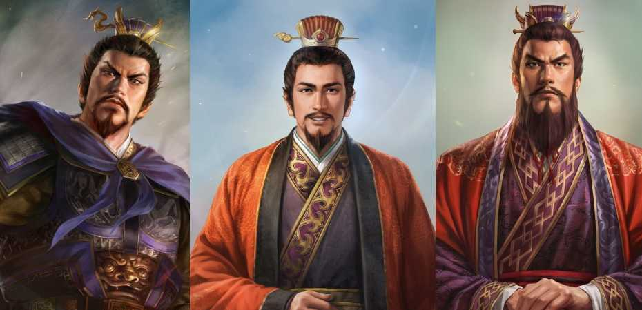 Arte de personagens de Romance of the Three Kingdoms XIV