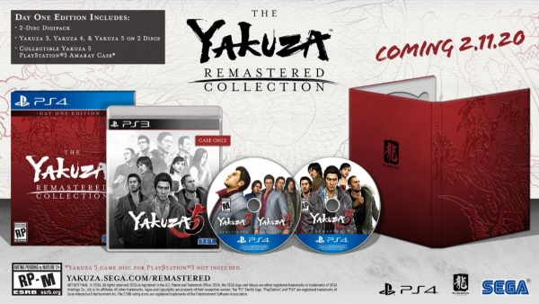 Day One Edition de The Yakuza Remastered Collection