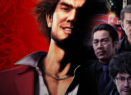 Arte de capa de Yakuza: Like a Dragon