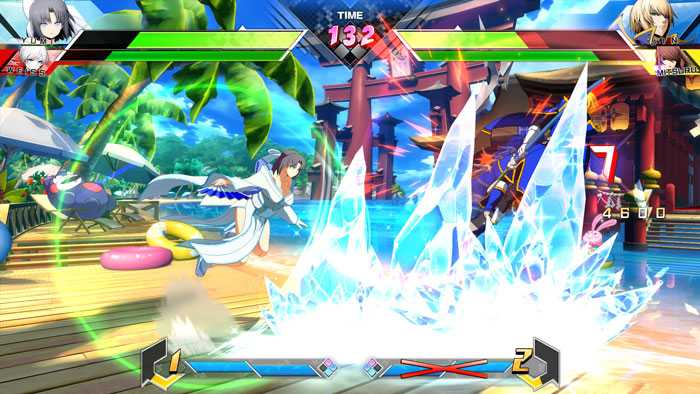 Screenshot de BlazBlue Cross Tag Battle