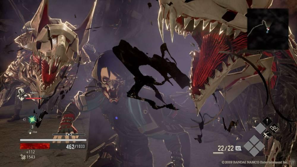 Screenshot de Code Vein
