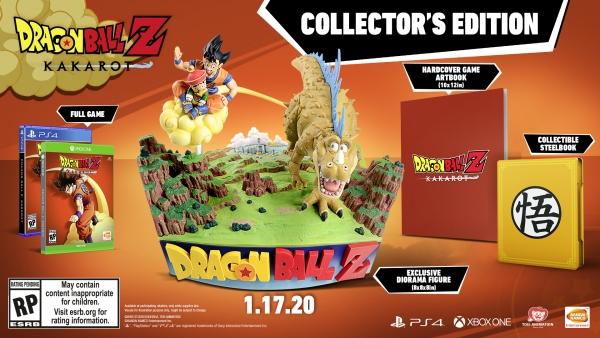 Conteúdo da edição de colecionador de Dragon Ball Z: Kakarot