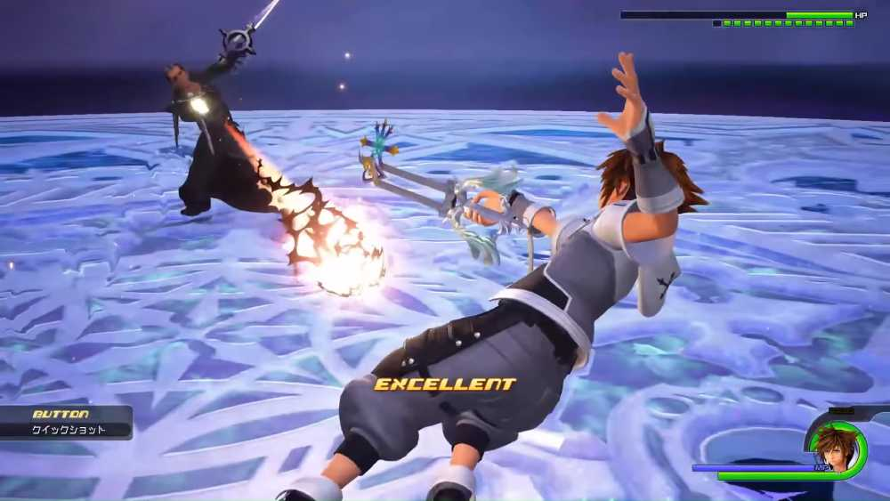 "Screenshot da DLC ""ReMind"" de Kingdom Hearts III"