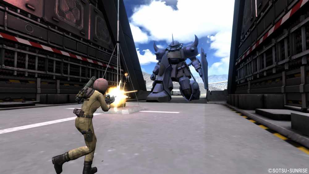 Screenshot de Mobile Suit Gundam: Battle Operation 2