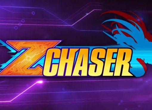 """Logotipo do modo """"Z Chaser"""" de Mega Man Zero/ZX Legacy Collection"""