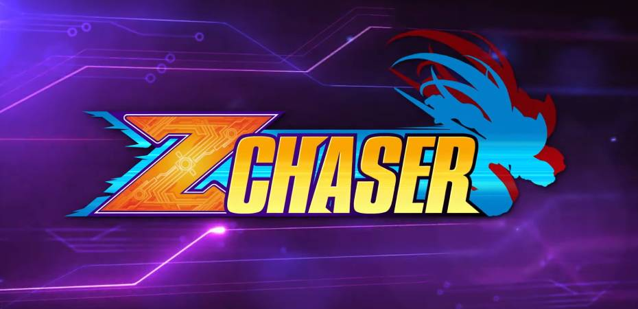 "Logotipo do modo ""Z Chaser"" de Mega Man Zero/ZX Legacy Collection"