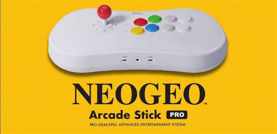 Neo Geo Arcade Stick Pro é híbrido entre controle e console