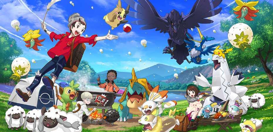 Arte de Pokémon Sword & Shield