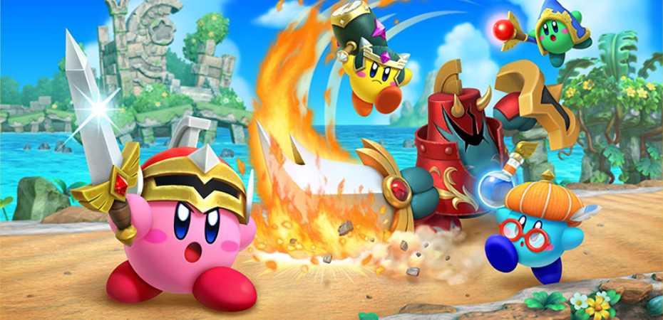 <I>Super Kirby Clash</i> é anunciado para Nintendo Switch