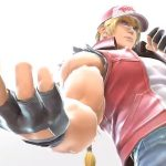 Captura de tela do trailer de anuncio de Terry Bogard em Super Smash Bros. Ultimate