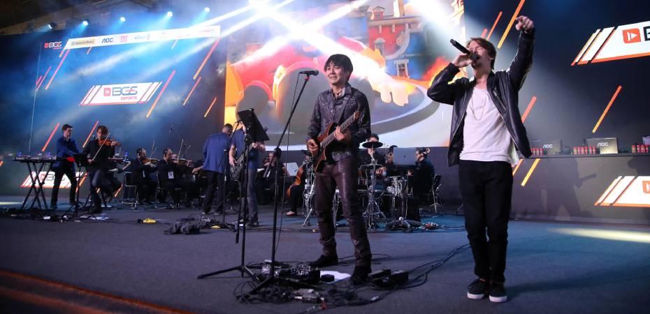 A Video Game Orchestra deu um show espetacular na BGS 2019 | #BGS2019
