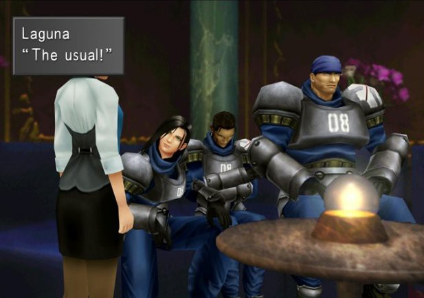Screenshot de Final Fantasy VIII Remastered
