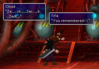 Screenshot de Final Fantasy VII