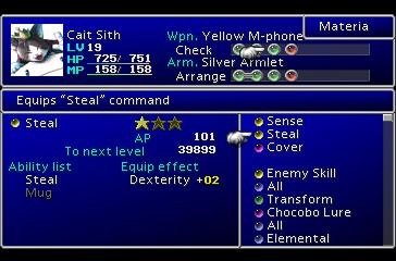 Screenshot de Final Fantasy VII