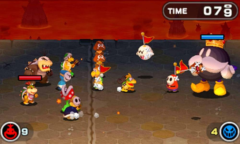 Screenshot de Mario & Luigi: Bowser's Inside Story + Bowser's Jr.'s Journey