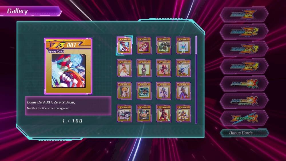 Screenshot de Mega Man Z/ZX Legacy Collection