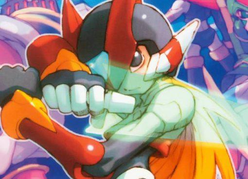 Arte de Mega Man Zero
