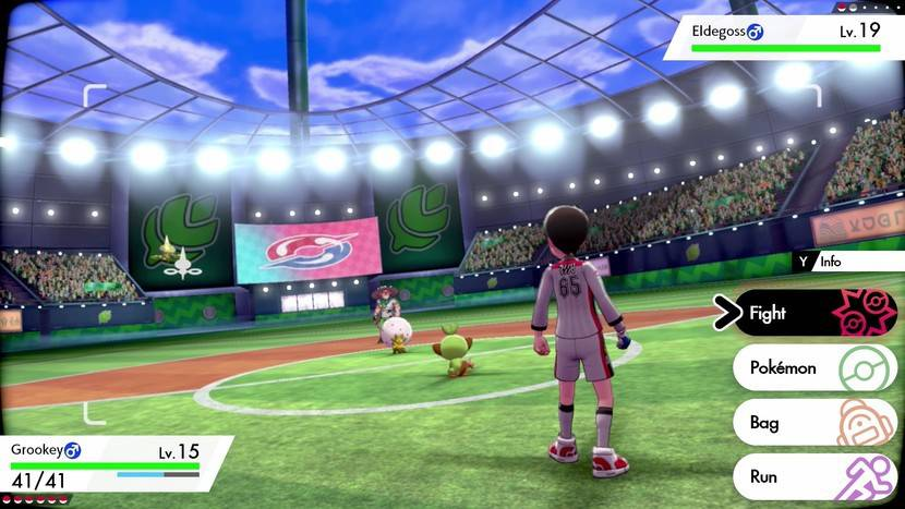 Screenshot de Pokémon Sword & Shield