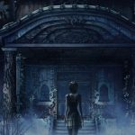 Arte de Zero: Tsukihami no Kamen, o quarto título principal da série Fatal Frame